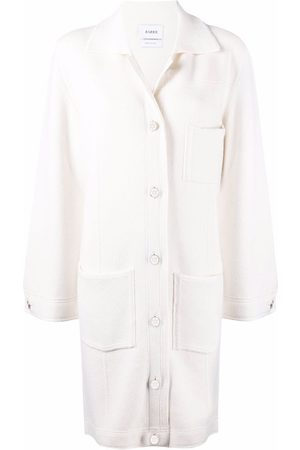 Barrie Single-breasted cashmere-cotton blend coat