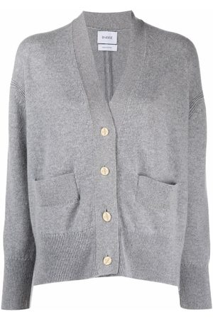 Barrie Rib-detail cashmere cardigan