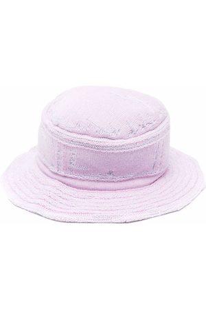 Barrie Purl-knit bucket hat