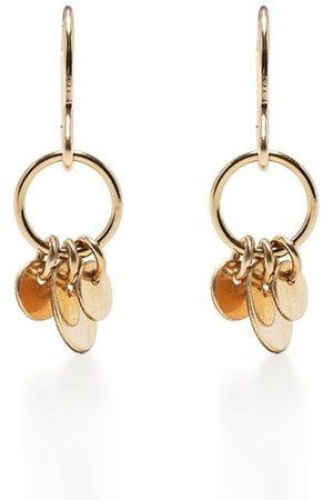 Petite Grand Peony drop earrings