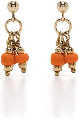 Petite Grand Primrose bead earrings