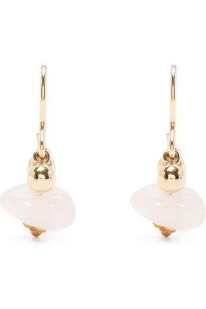 Petite Grand Tegan moonstone drop earrings