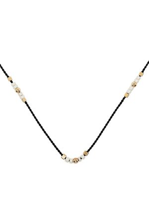 Petite Grand Buttercup beaded necklace