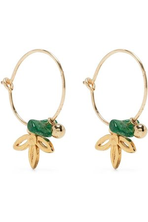 Petite Grand Lilybelle Lotus hoop earrings