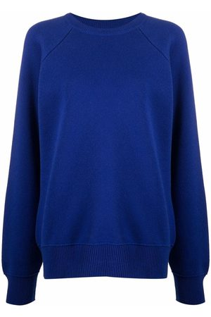 Barrie Crewneck cashmere-cotton sweatshirt