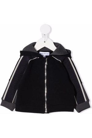 Emporio Armani Logo-print sleeve jacket