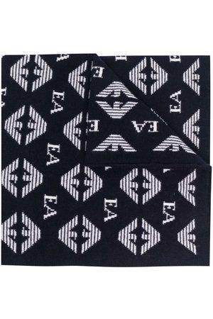 Emporio Armani Monogram-print scarf