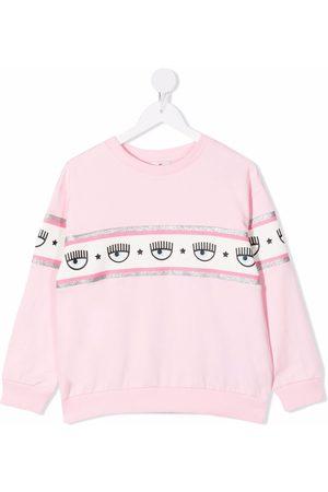 Chiara Ferragni Logo-print cotton jumper