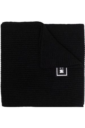 Msgm Logo-patch scarf