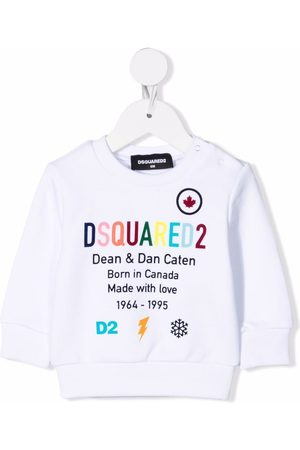 Dsquared2 Logo-print cotton jumper