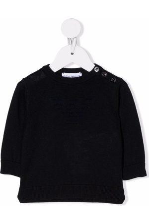 Emporio Armani Buttoned-shoulder sweater