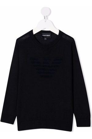 Emporio Armani Logo-detail jumper