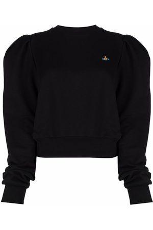 Vivienne Westwood Orb-embroidered organic cotton sweatshirt