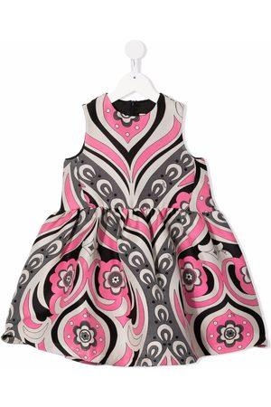 Emilio Pucci Floral-print sleeveless dress