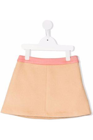 Emilio Pucci Two-tone flared skirt