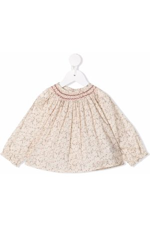 BONPOINT Abstract-print cotton blouse