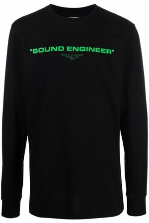 OFF-WHITE Graphic-print long-sleeve sweatshirt