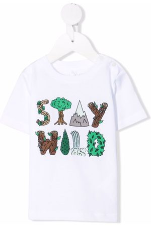 Stella McCartney Slogan-print organic cotton T-shirt