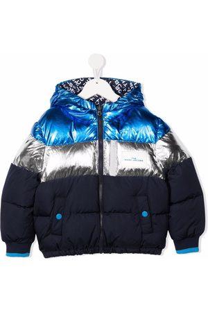 The Marc Jacobs Metallic-effect padded jacket