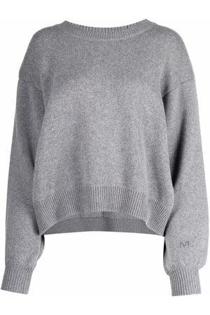 MAGDA BUTRYM Curved-hem knitted jumper