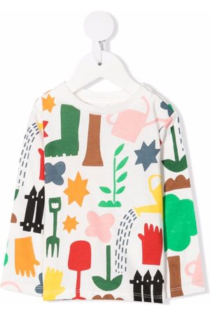 Stella McCartney Long-sleeved organic cotton T-shirt