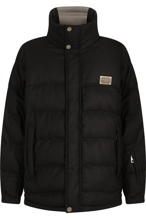 Dolce & Gabbana Padded virgin wool-blend coat