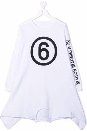 MM6 KIDS Logo-print T-shirt dress