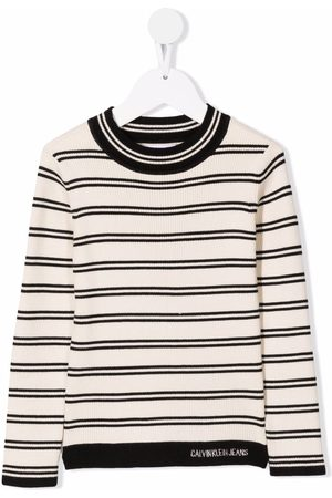 Calvin Klein Striped round neck T-shirt