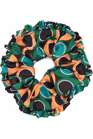 La DoubleJ Polka-dot print scrunchie