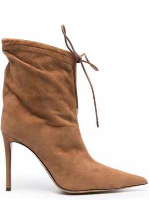 ALEXANDRE VAUTHIER Pointed lace-up boots