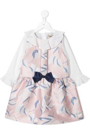 HUCKLEBONES LONDON Floral-print Tea dress