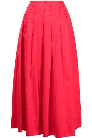 Jason Wu Pleated a-line skirt