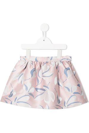 HUCKLEBONES LONDON Gathered mini skirt