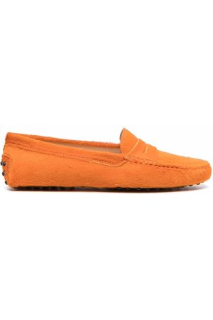 Tod's Faux fur Gommino loafers