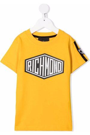 John Richmond Junior Logo-print cotton T-shirt