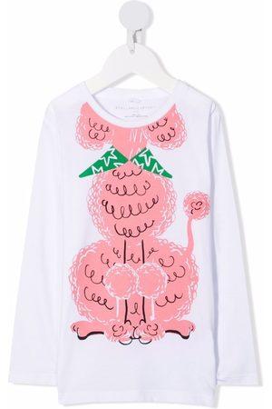 Stella McCartney Poodle-print organic-cotton T-shirt