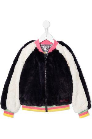 The Marc Jacobs Stripe-trimmed reversible bomber jacket