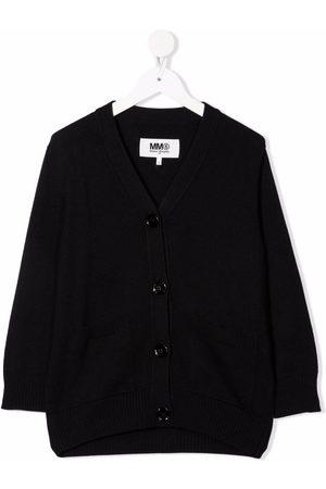MM6 KIDS V-neck cardigan
