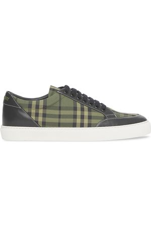 Burberry Check-print low-top sneakers