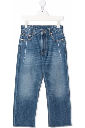 MM6 KIDS Mid-rise straight jeans