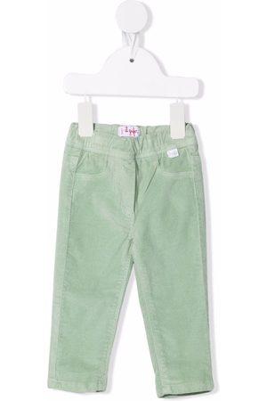 Il gufo Elasticated velvet trousers