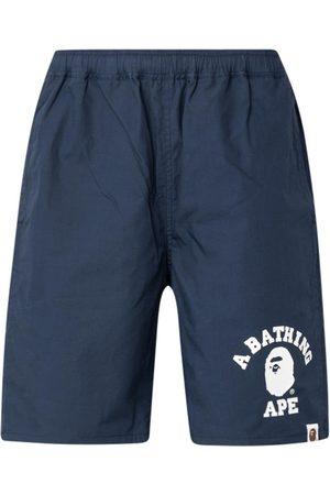 A Bathing Ape Color Camo reversible shorts