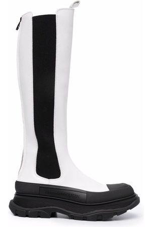 Alexander McQueen Tread Slick zipped boots