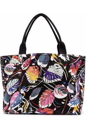 Missoni Leaf-print tote bag