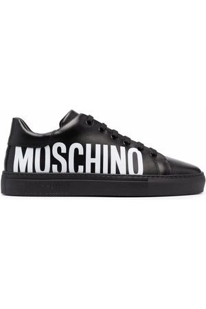 Moschino Logo-print lace-up sneakers
