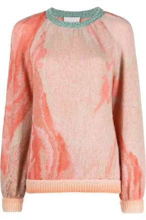 FORTE FORTE Faded-knit jumper