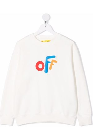 Off-White Kids OFF ROUNDED CREWNECK MULTICOLOR