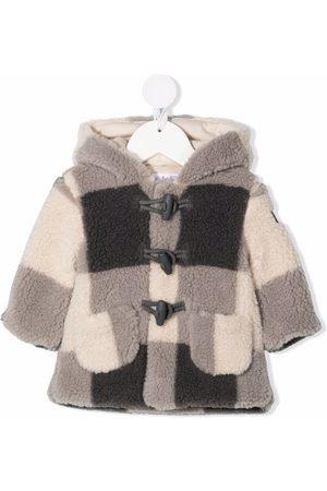 Il gufo Checked duffle coat