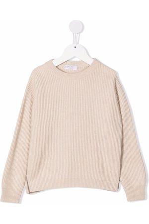 Brunello Cucinelli Ribbed knit cashmere jumper