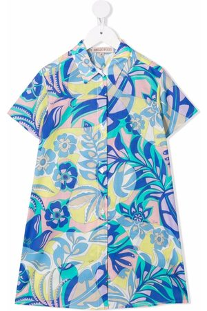 Emilio Pucci Samoa floral-print shirt dress